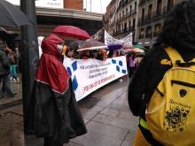 """Manifestación en Callao. Por una """"Lluvia de residencias públicas y de Calidad"""""""